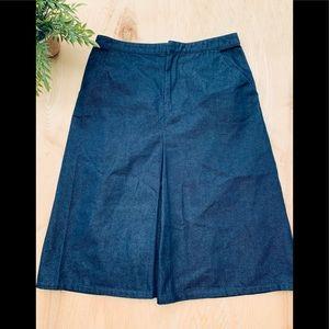 Gap woman's jeans skirt